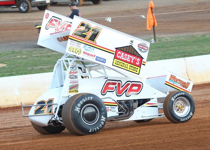 Brian finished sixth with the WoO at Port Royal (Jeremy Elliott Photo)