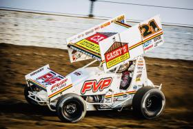 Brian Brown Scores Top Five at Williams Grove and Podium at Selinsgrove