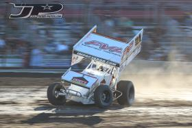 Brian Brown Wrapping Up World of Outlaws California Swing This Weekend