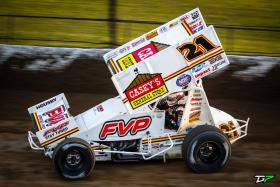 Brian Brown Highlights Four-Race Weekend at Eldora Speedway With Top 10